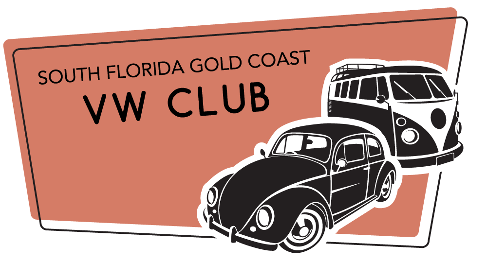 South Florida Volkswagen Club Retina Logo